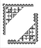 Decorative corner. Decorative graphic corner for design vector illustration