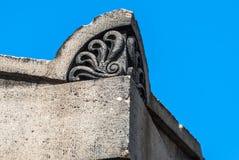 Decorative Corner Stone Royalty Free Stock Images