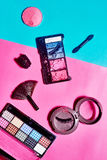 Decorative cosmetic set Stock Images
