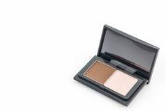 Decorative Cosmetic set eyeshadow. Royalty Free Stock Photos