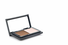 Decorative Cosmetic set eyeshadow . Royalty Free Stock Photos