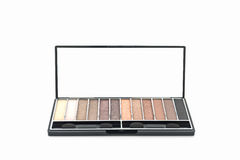 Decorative Cosmetic set eyeshadow. Stock Photo