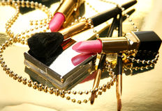 Decorative cosmetics Stock Photography