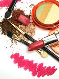 Decorative Cosmetics Royalty Free Stock Photography