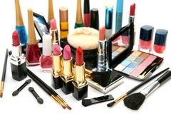 Decorative Cosmetics Royalty Free Stock Image
