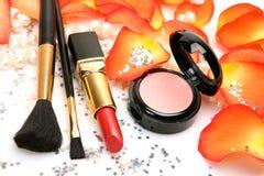 Decorative cosmetics Royalty Free Stock Images