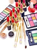 Decorative cosmetics. Royalty Free Stock Photography