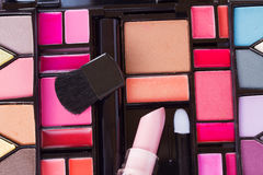 Decorative cosmetics Stock Images