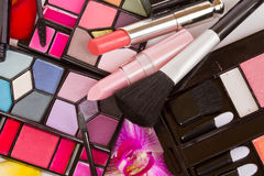 Decorative cosmetics close up Royalty Free Stock Photo