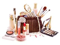 Free Decorative Cosmetics For Makeup. Royalty Free Stock Photography - 24371987