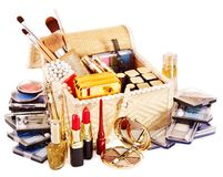 Decorative cosmetics for makeup. Stock Image