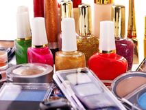 Decorative cosmetics for makeup. Stock Photography