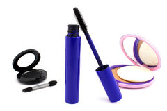 Decorative Cosmetics for Smokey eyes Stock Photography