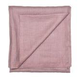 Decorative cotton tablecloth Stock Photo