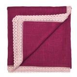 Decorative cotton tablecloth Royalty Free Stock Photos