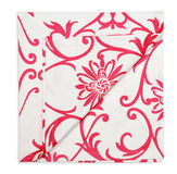 Decorative cotton tablecloth Stock Image