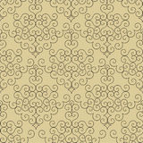 Decorative cream pattern Royalty Free Stock Photos