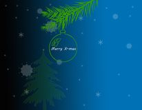 Decorative cristmas background Stock Image