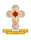 Decorative cross Stock Image