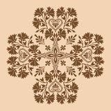 Decorative cross monochrome. Abstract artistic Stock Photos