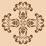 Decorative cross monochrome. Abstract artistic Stock Photography