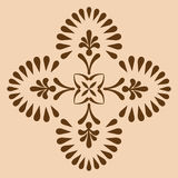 Decorative cross monochrome. Abstract artistic Royalty Free Stock Photos