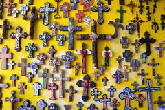 Decorative Crosses Royalty Free Stock Images