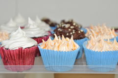 Decorative cupcakes Stock Photography