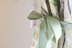 Decorative curtains Royalty Free Stock Photo