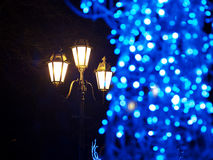 Decorative defocused  lights Royalty Free Stock Photography
