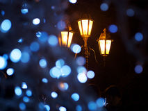 Decorative defocused  lights Royalty Free Stock Image