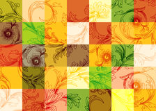 Decorative design. A illustration of wall paper design Royalty Free Stock Photography