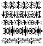 Decorative Design. Decorative lines that tile together nicely Stock Image