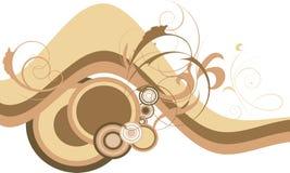 Decorative design with circle Stock Photos