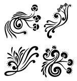 Decorative design element Royalty Free Stock Image
