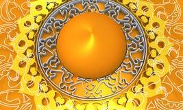 Decorative design element Stock Image