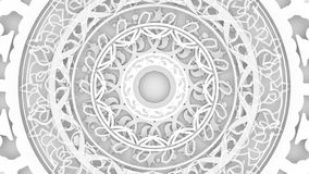 Decorative design element rotating stock footage