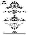 Decorative Design Elements Stock Images