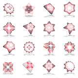 Decorative design elements. Decorative design elements set Stock Photo
