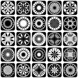Decorative design elements. Patterns set. Vector art Stock Photos