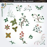 Decorative design elements 7 Royalty Free Stock Photos