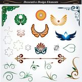 Decorative design elements 12 Royalty Free Stock Photos