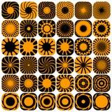 Decorative design elements. Patterns set. Royalty Free Stock Photos