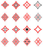 Decorative design elements. Vector. Royalty Free Stock Photos