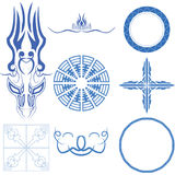 Decorative design elements  Vector art Stock Photography