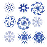 Decorative design elements  Vector flower Stock Photography