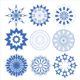 Decorative design elements  Vector set circle Stock Photography