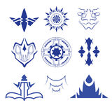 Decorative design elements  Vector set Stock Photography