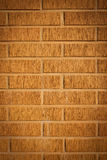 Decorative design facade brick wall Stock Photo