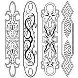 Decorative design Vector bar. Object Royalty Free Stock Images